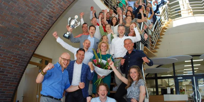Hutten wint voor vijfde keer in segment At Work GfK Formule Rapport Out of Home