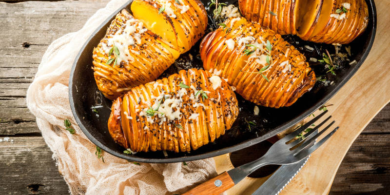 Harm op de radio #1: Hasselback potatoes
