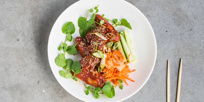 Recept: Chef Fong Yee Wong's sticky chicken wings