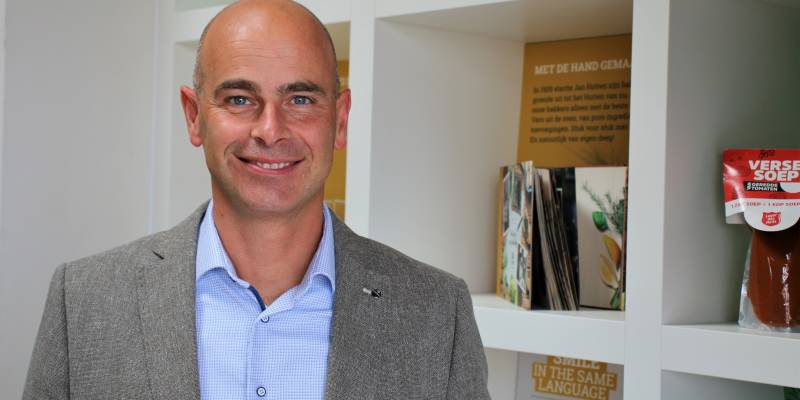 Jacob Jan Bos nieuwe Corporate Manager Sales bij Hutten